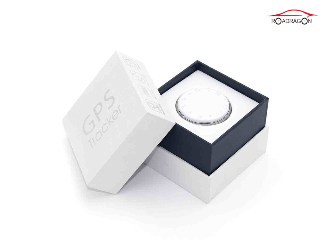 Small Wireless GPS Tracker Mini Size Anti Lost SOS Button Protect Property