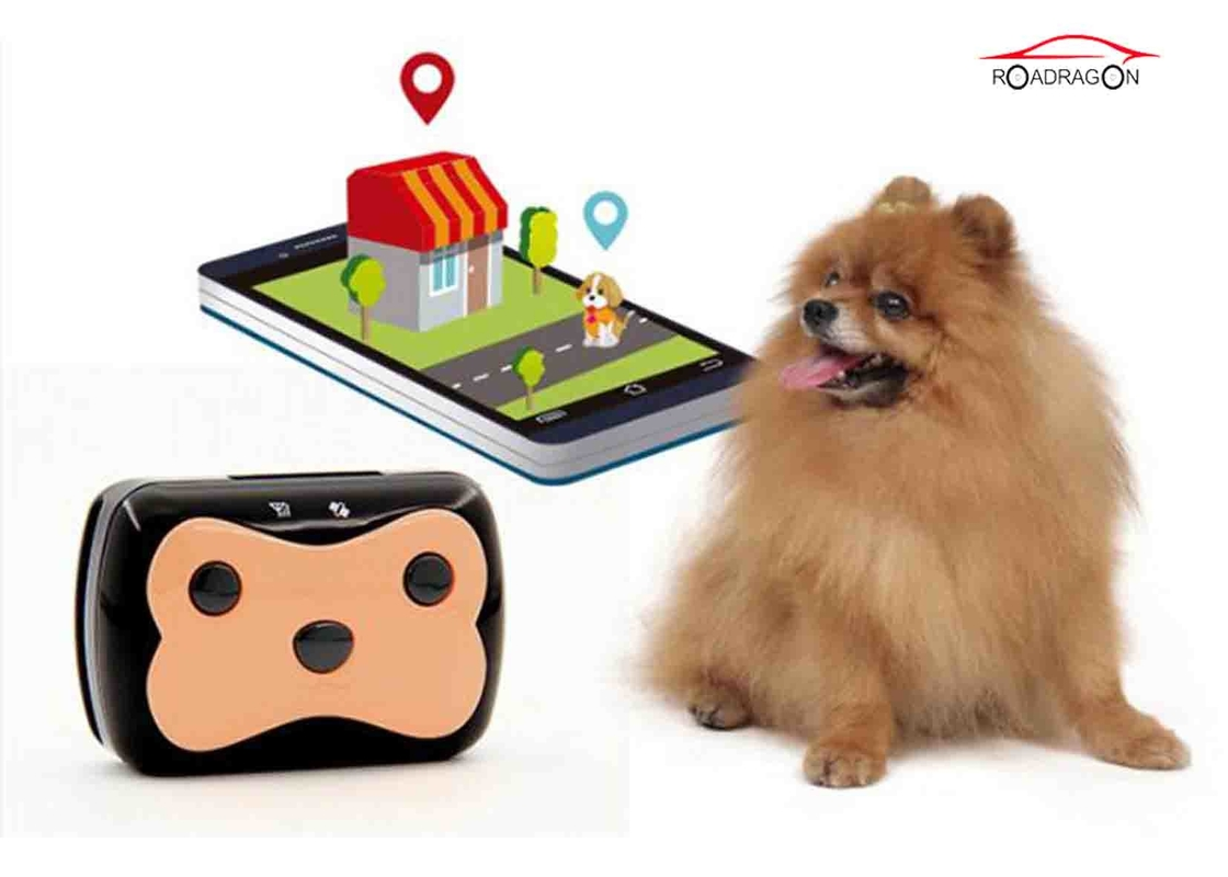 Low Power Alarm Dog Collar Tracking Device Electronic Defence 300 Hours Standby Time